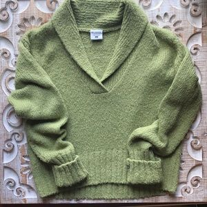 Columbia sweater size L green